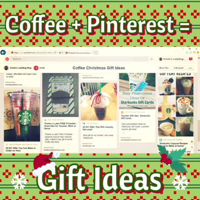 Coffee + Pinterest = Gift Ideas | LadyBug Blog
