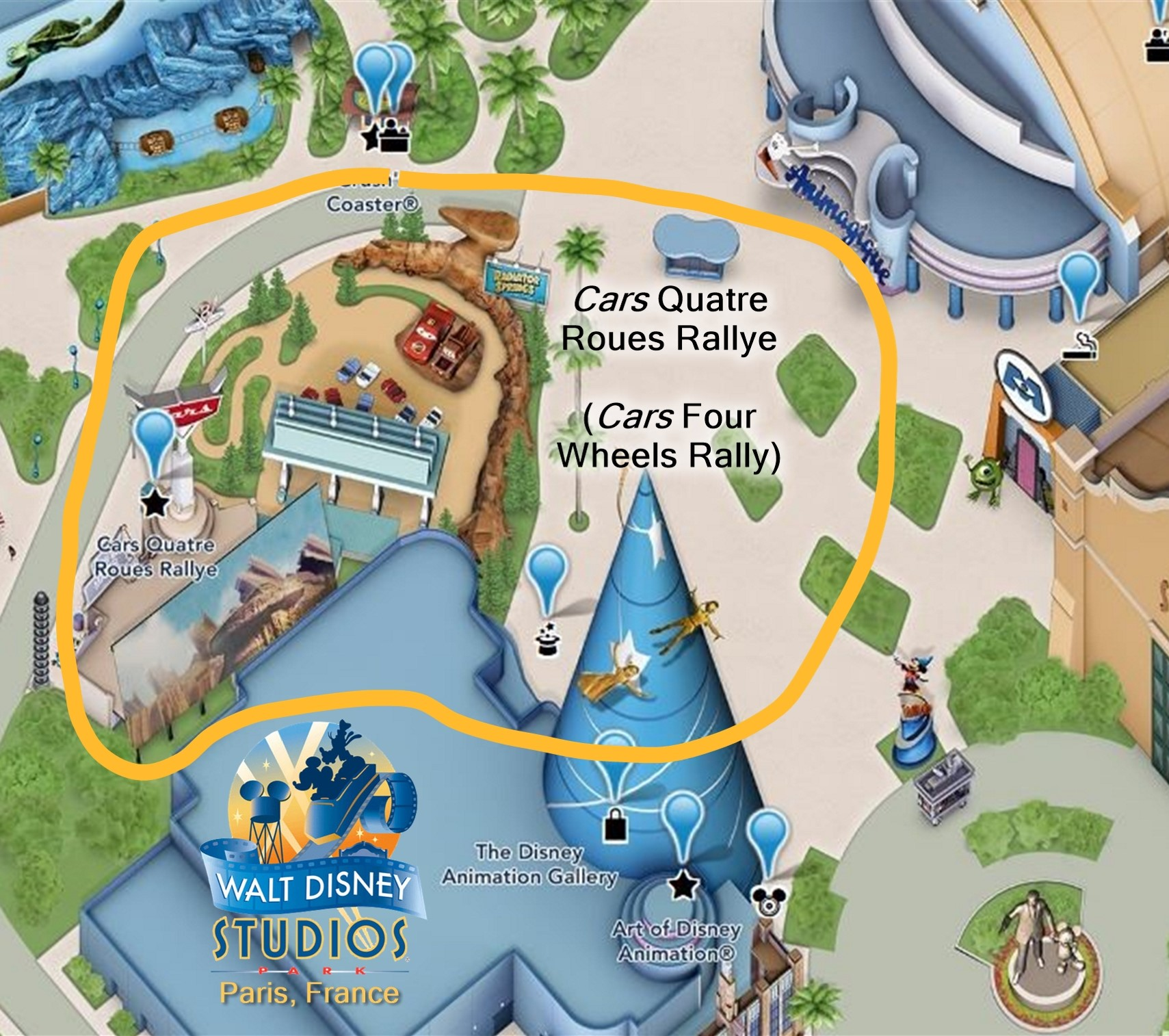 How Does Cars Land Compare To The Real Route 66 Ladybug Blog